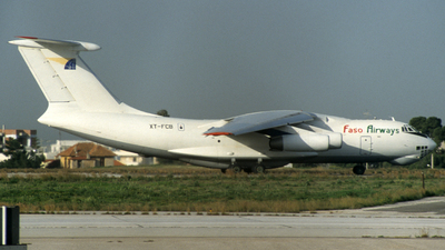 XT-FCB - Ilyushin IL-76TD - Faso Airways