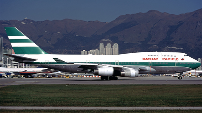VR-HOY - Boeing 747-467 - Cathay Pacific Airways
