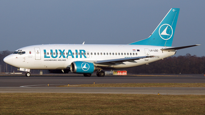 LX-LGO - Boeing 737-5C9 - Luxair - Luxembourg Airlines