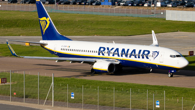A picture of EIDWM - Boeing 7378AS - Ryanair - © Zach ldn_avphoto