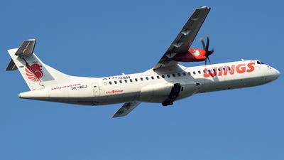 A picture of PKWGJ - ATR 72600 - Wings Air - © Fahmun