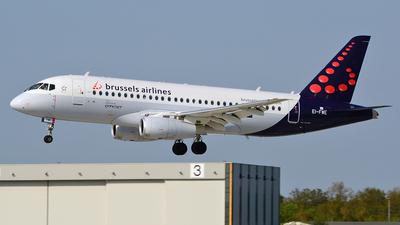 EI-FWE - Sukhoi Superjet 100-95B - Brussels Airlines (CityJet)