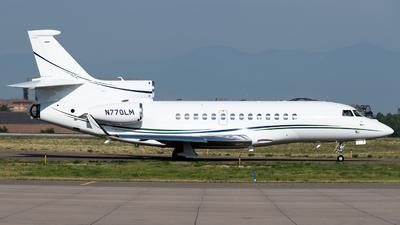 N770LM - Dassault Falcon 7X - Private