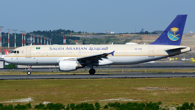 A picture of HZASE - Airbus A320214 - Saudia - © Kayra D.