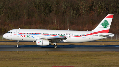 OD-MRN - Airbus A320-232 - Middle East Airlines (MEA)