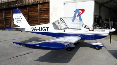 9A-UGT - Evektor Eurostar EV-97 - Private