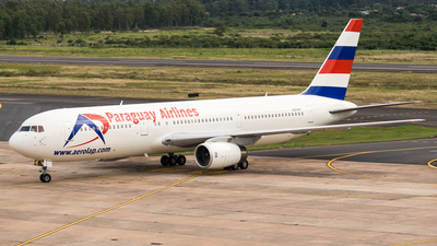 N254MY - Boeing 767-336(ER) - Paraguay Airlines