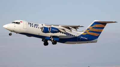 EX-27003 - British Aerospace Avro RJ85 - TezJet Air Company