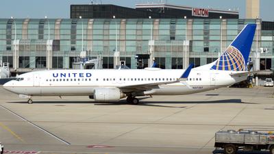 N37287 - Boeing 737-824 - United Airlines