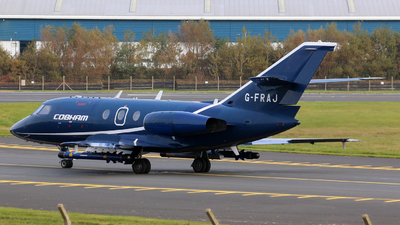 A picture of GFRAJ - Dassault Falcon 20 - Cobham Aviation Services - © Nathan McRither