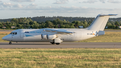 EC-LMR - British Aerospace BAe 146-300(QT) - ASL Airlines
