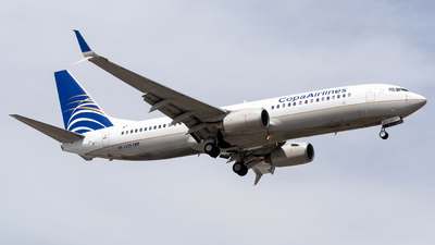 HP-1539CMP - Boeing 737-8V3 - Copa Airlines