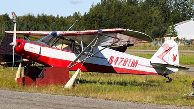 N4791M - Piper PA-11-90 Cub Special - Private