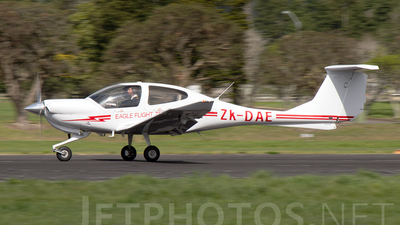 ZK-DAE - Diamond DA-40 Diamond Star - Eagle Flight Training