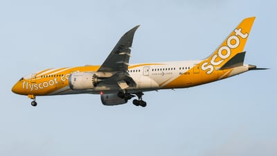 9V-OFH - Boeing 787-8 Dreamliner - Scoot