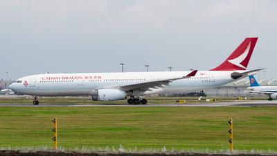 B-HLM - Airbus A330-343 - Cathay Dragon