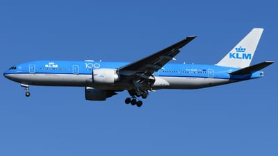 PH-BQE - Boeing 777-206(ER) - KLM Royal Dutch Airlines