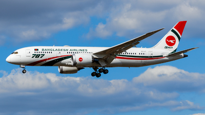 A picture of S2AJT - Boeing 7878 Dreamliner - Biman Bangladesh Airlines - © Daniel Nagy