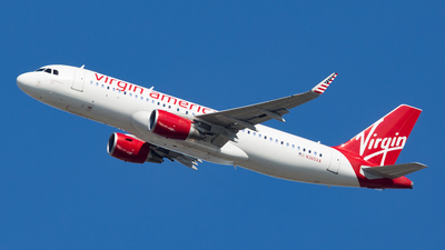 N365VA - Airbus A320-214 - Virgin America