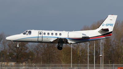 G-SPRE - Cessna 550B Citation Bravo - Xclusive Jet Charter