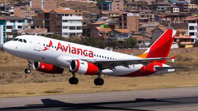 N520TA - Airbus A319-132 - Avianca