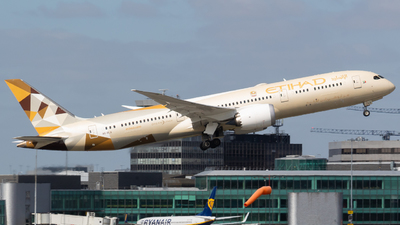 A picture of A6BLX - Boeing 7879 Dreamliner - Etihad Airways - © Jess Hall