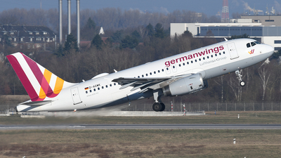 D-AGWK - Airbus A319-132 - Germanwings