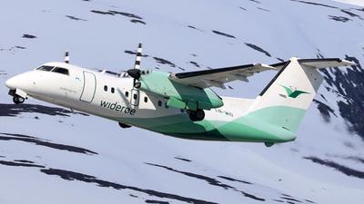 A picture of LNWIO - De Havilland Canada Dash 8100 - Wideroe - © R.Rimestad