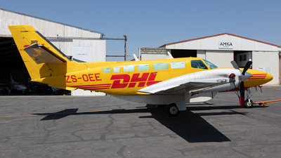 ZS-OEE  - Reims-Cessna F406 Caravan II - DHL Air