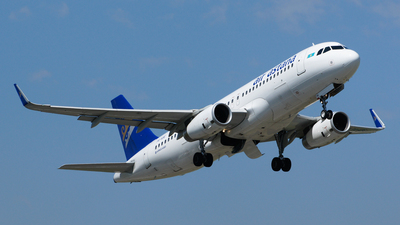 P4-KBE - Airbus A320-232 - Air Astana