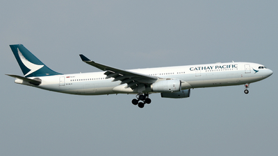 B-HLQ - Airbus A330-343 - Cathay Pacific Airways