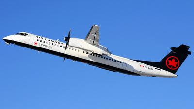 A picture of CGGMZ - De Havilland Canada Dash 8400 - Air Canada - © Scott Pindera