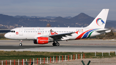 D-ASTA - Airbus A319-112 - Gambia Bird (Germania)