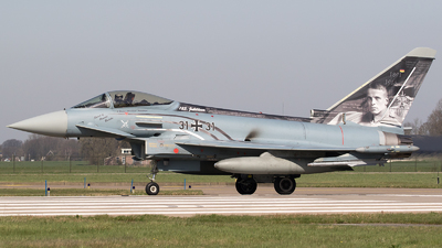 31-31 - Eurofighter Typhoon EF2000 - Germany - Air Force