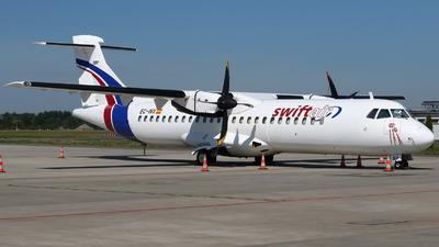 A picture of ECINV - ATR 72212(F) - Swiftair - © Pawel Cieplak