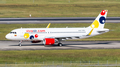 F-WWBU - Airbus A320-214 - Viva Air Colombia