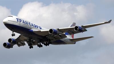 VQ-BHW - Boeing 747-4F6 - Transaero Airlines