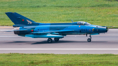 F943 - Chengdu F-7BG - Bangladesh - Air Force