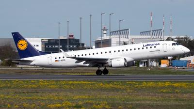 D-AECE - Embraer 190-100LR - Lufthansa CityLine