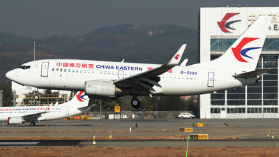 A picture of B5255 - Boeing 73779P - China Eastern Airlines - © Amber Xuan