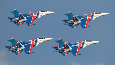 RF-81722 - Sukhoi Su-30SM - Russia - Air Force