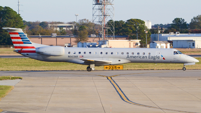 A picture of N663AR - Embraer ERJ145LR - American Airlines - © Jake Sevigny - kmht.jake