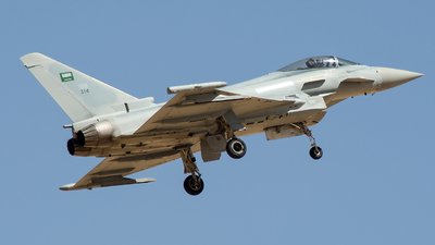 314 - Eurofighter Typhoon F.2 - Saudi Arabia - Air Force