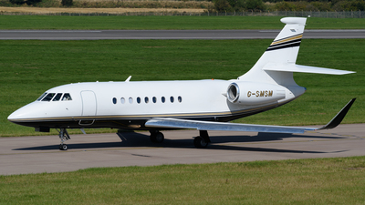 G-SMSM - Dassault Falcon 2000LX - London Executive Aviation