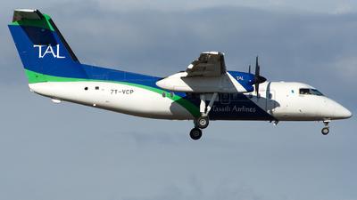 A picture of 7TVCP - De Havilland Canada Dash 8200 - Tassili Airlines - © Aldo Bidini
