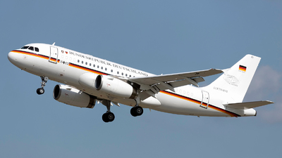 15-03 - Airbus A319-133X(CJ) - Germany - Air Force