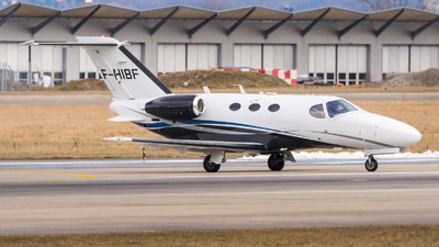 F-HIBF - Cessna 510 Citation Mustang - Private