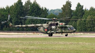 90 - Mil Mi-8MTV-5 Hip - Belarus - Air Force