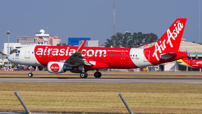 A picture of HSCBA - Airbus A320216 - AirAsia - © Chittapon K.