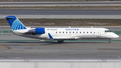 N468CA - Bombardier CRJ-200LR - United Express (SkyWest Airlines)